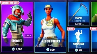 COMPTE À REBOURS DE LA BOUTIQUE D'ARTICLES FORTNITE ! 1er avril New Skins! - Fortnite bataille royale