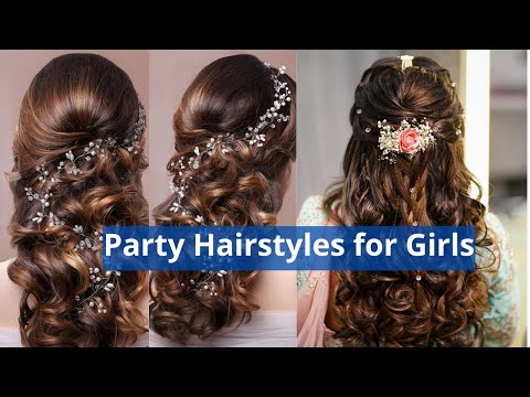 Latest Hair Style for Party Functions Events 2014