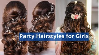 Latest Hair Style for Party Functions Events | New Easy hair Style