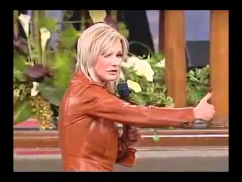 Pastrix Paula White With Word Faith Sow Seed Money At Potter