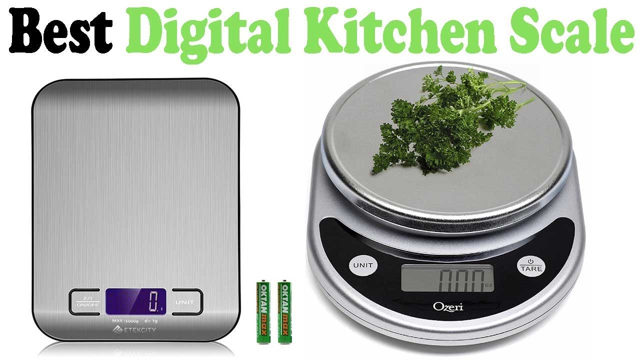 Top 5 Best Digital Kitchen Scale Reviews 2017  YouTube