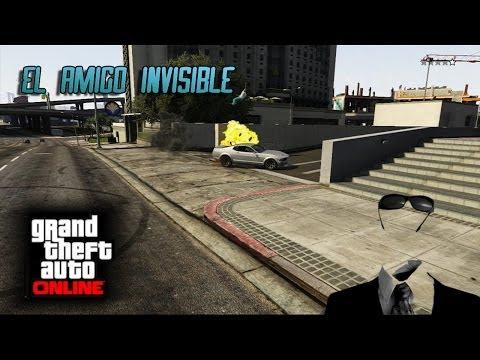 [GTA 5] Con Luh - El amigo invisible