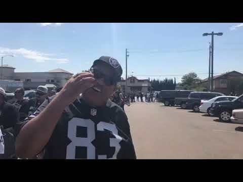 Oakland Raiders Head Coach Jon Gruden Throws Party At Ricky's Sports Theater Vlog