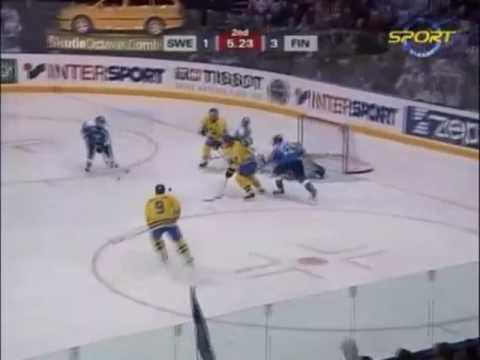 Sverige - Finland (6 – 5) Vändningen i VM 2003