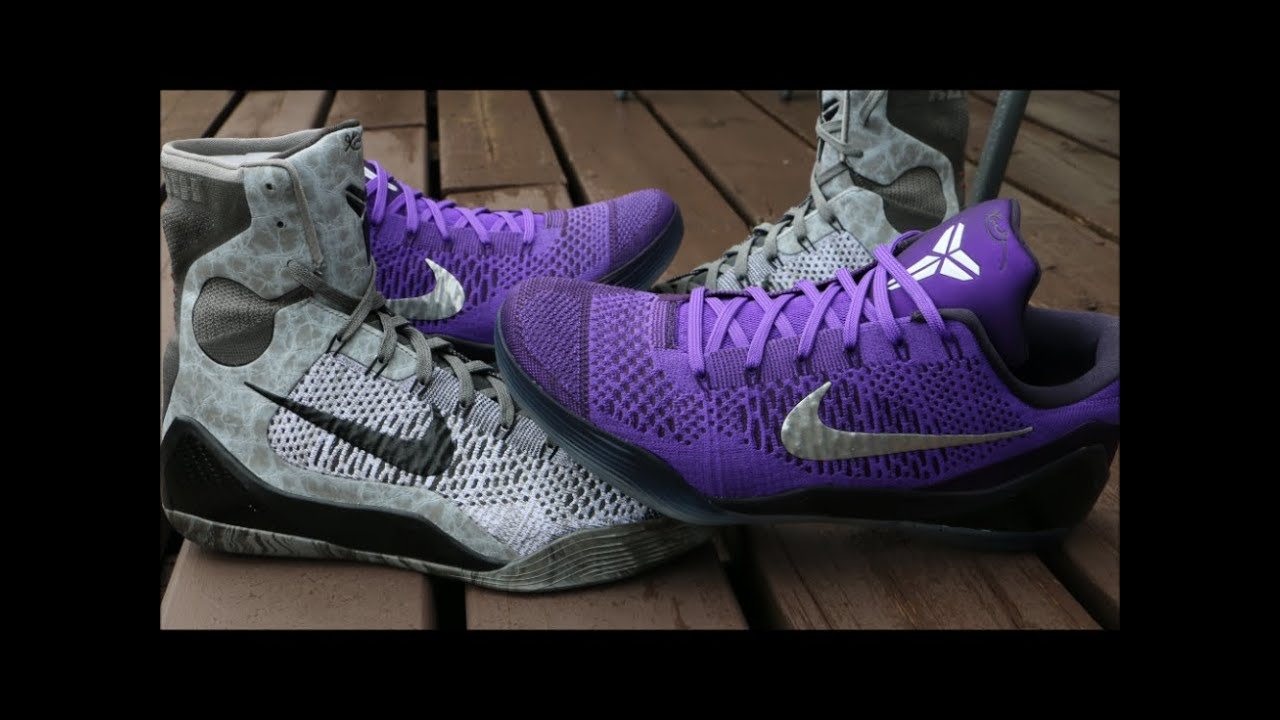 8977a29c9e9 How I Lace My Nike Kobe 9 - YouTube