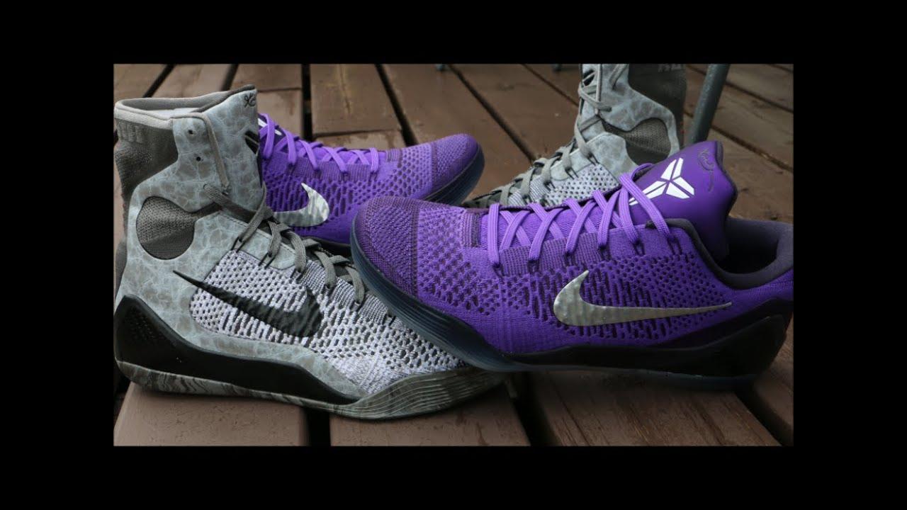 3ff2ad7dfcb How I Lace My Nike Kobe 9 - YouTube