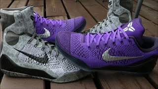 How I Lace My Nike Kobe 9