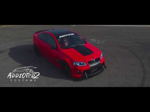 Demon 8 The SuperCharged Pontiac G8 GT with a  LSX 427
