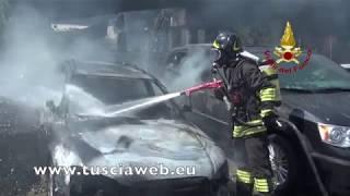Tir esplode a Bologna, l'intervento dei vigili del fuoco