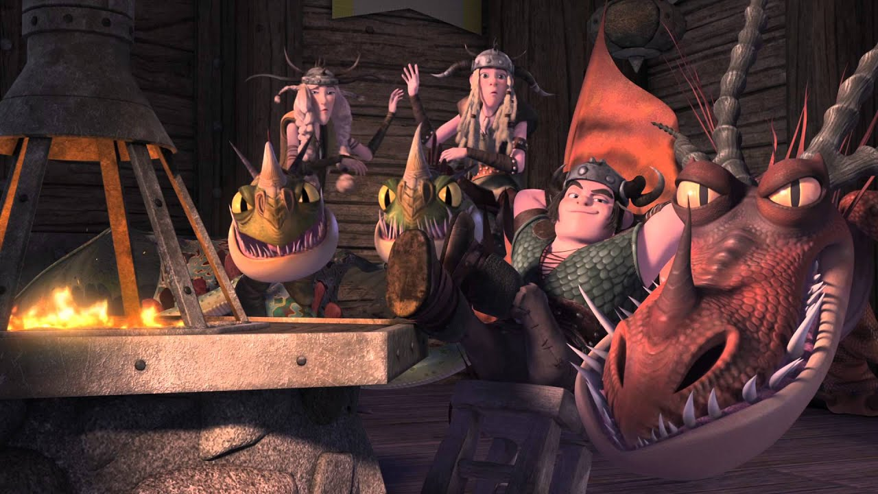 Dreamworks Dragons: Race To The Edge Teaser Flix [hd]