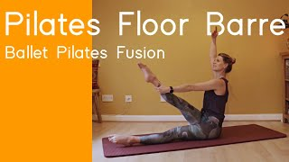 20 minute Ballet Workout | Ballet Pilates Fusion | Floor Barre