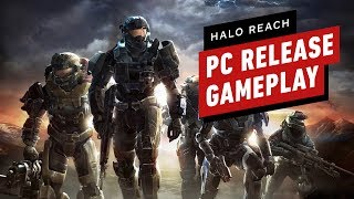 The First 18 Minutes of Halo Reach Gameplay on PC