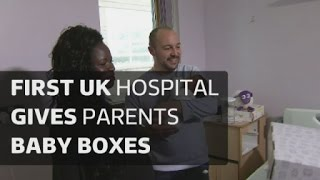 'Baby boxes' for new parents in the UK