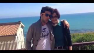 Piero Barone singing to his mamma!