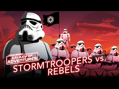 Stormtroopers vs. Rebels - Soldiers of the Galactic Empire   Star Wars Galaxy of Adventures