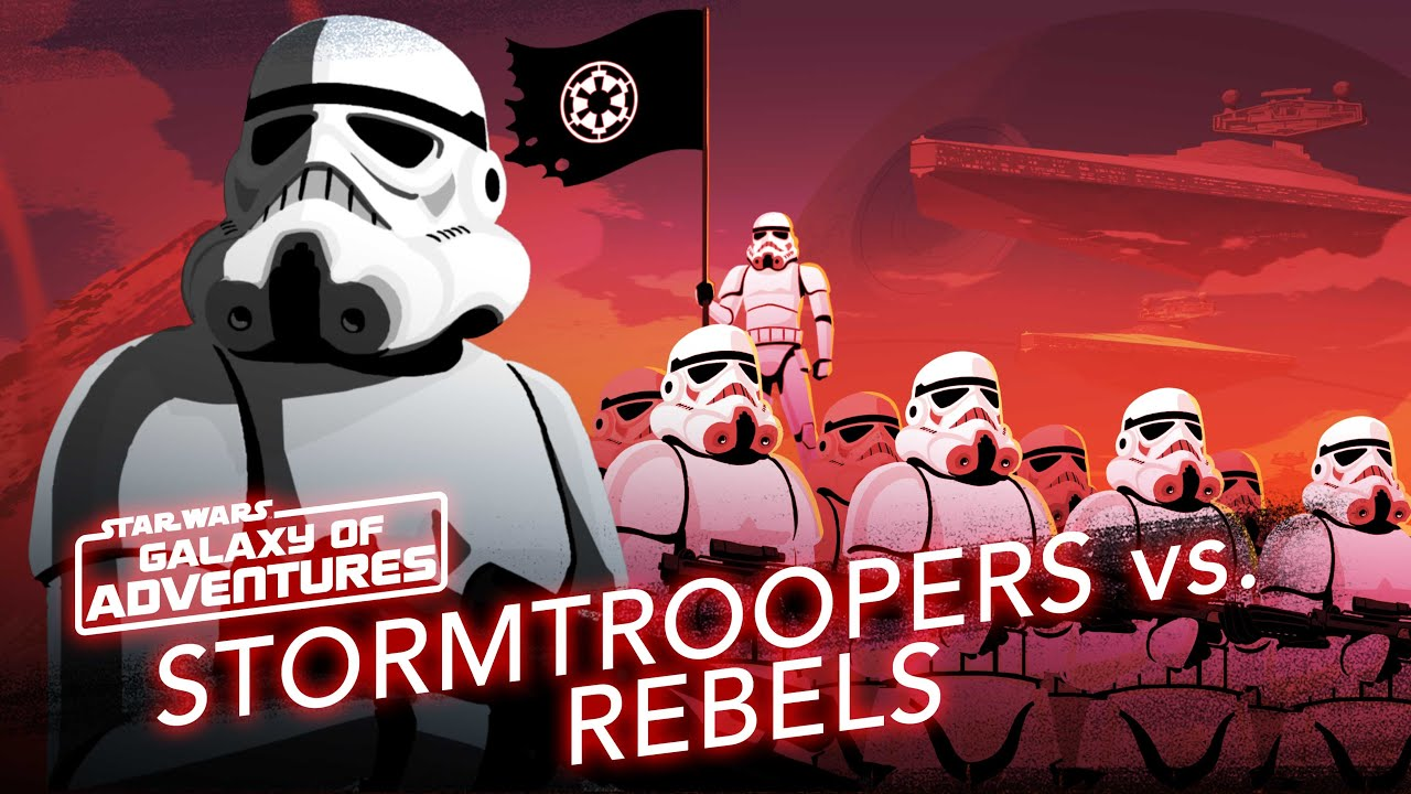 Stormtroopers Vs Rebels Soldiers Of The Galactic Empire Star Wars Galaxy Of Adventures Youtube