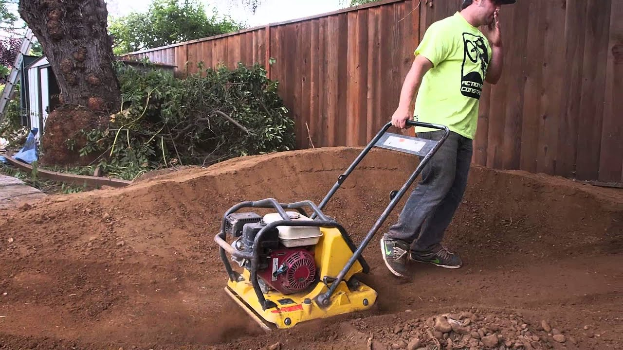 shaping the backyard pump track youtube