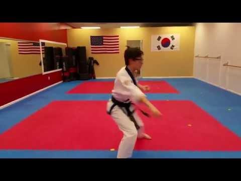 Tang Soo Do Basic Form #1,  당수도 기초형 1부