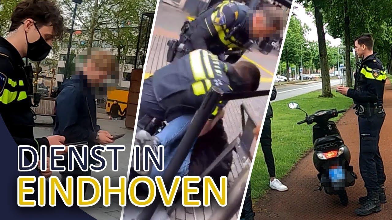 Politie Eindhoven / Bureau040 | Aanhouding verzet | Dienst met politievrijwilliger Erik