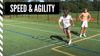 Lacrosse Speed and Agility: Reverse Shuffle w/ Hip Turn