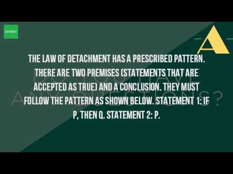 What Is The Law Of Detachment Youtube