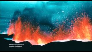 Heyr himna smiður - 'Eldfjall' opening credits - 1973 Heimaey eruption