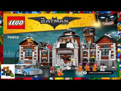 Lego Instructions The Batman Movie 70912 Arkham Asylum Mp3
