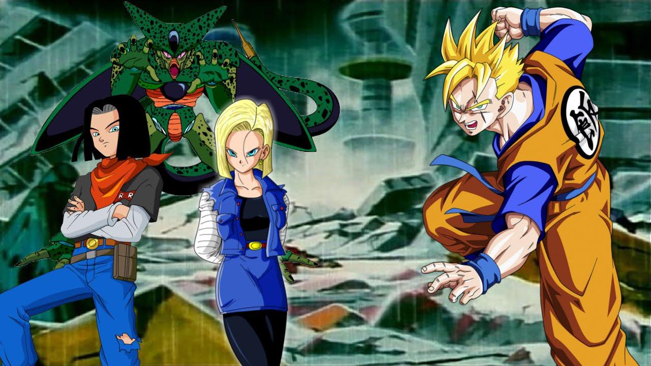 Dragon Ball Z Scenarios Ep 4 Ssj2 Future Gohan Vs The Androids