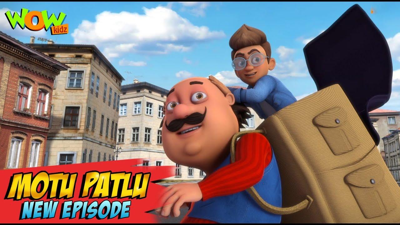 Download Motu Patlu New Episodes 2021 | Secret Agent In Rome | Funny Stories | Wow Kidz
