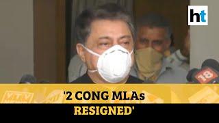 Two Congress MLAs from Gujarat resign ahead of Rajya Sabha polls