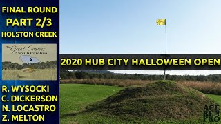 ARP   2020 Hub City Halloween Open R3 / M9   C. Dickerson, R. Wysocki, N. Locastro, Z. Melton  