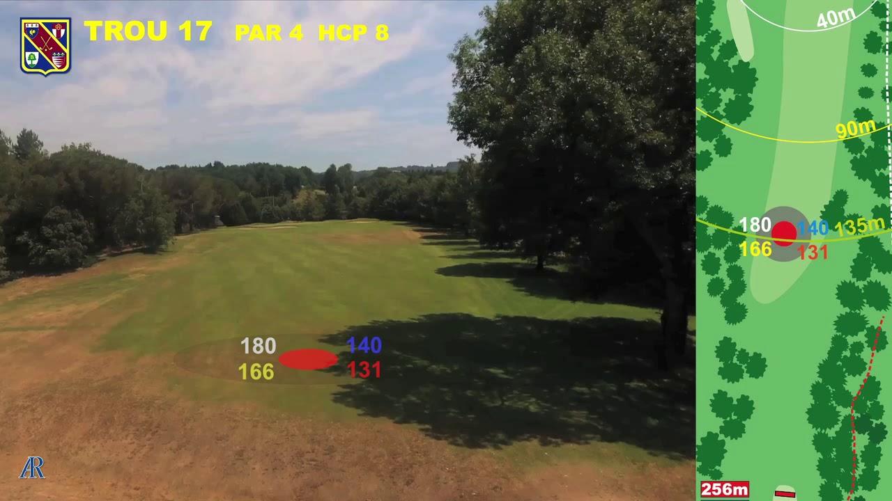 Vidéo du trou numéro 17 | Golf La Barouge Mazamet