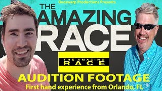 What ACTUALLY HAPPENS At an Amazing Race Audition - Vlog (NSFW Laungage) (1/4)