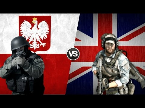 POLAND VS UNITED KINGDOM - Military Power Comparison 2017