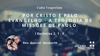 Culto Vespertino - 30 de maio de 2021