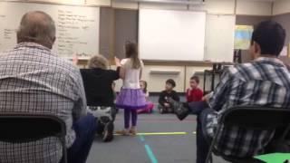 Открытый урок музыки у Маши в школе-1