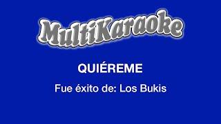 multi karaoke quiereme