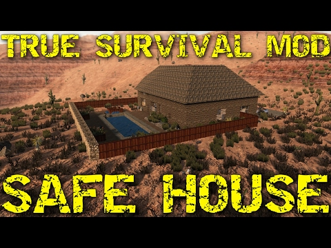 7 Days to Die Modded | 4K | True survival - Ep 2 - Safe House
