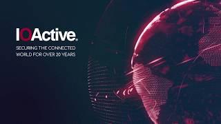 IOActive - Smart Cities - Cybersecurity Worries