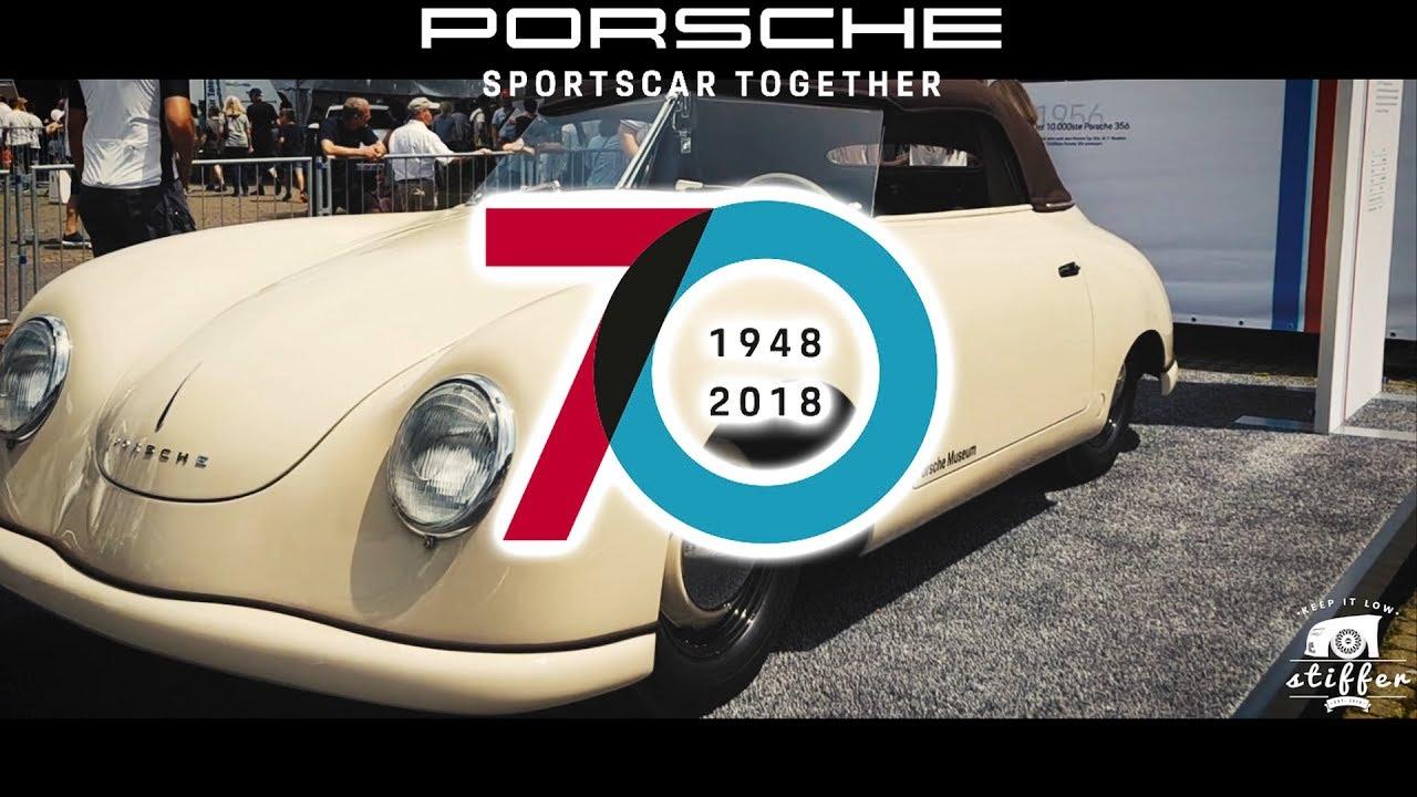 70 jahre porsche sportwagen sportscar together day 2018 356 911 930 964 993 teil 1 2 youtube. Black Bedroom Furniture Sets. Home Design Ideas