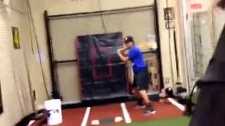 Baseball Softball Impact Bat Numbered Ball Pitch Recognition Hitting Drill