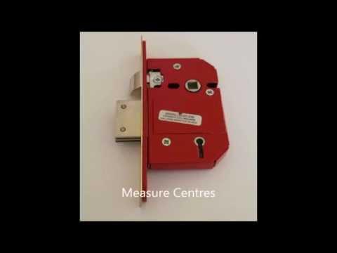 Sash Lock Measurements