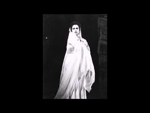 Leyla Gencer - Tutte Le Feste Al Tempio (Rigoletto) 1961 - Verdi