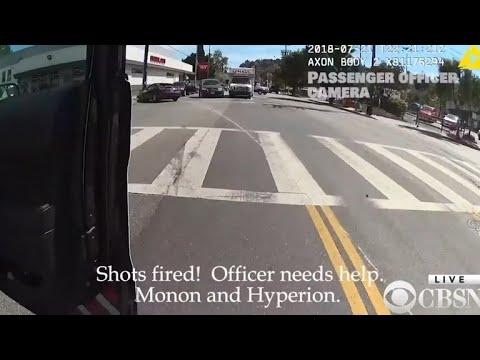 LAPD officer fired fatal shot during gun battle at Trader Joe's, killing employee