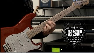 ESP Guitars ST 213 Demo By Rick Graham