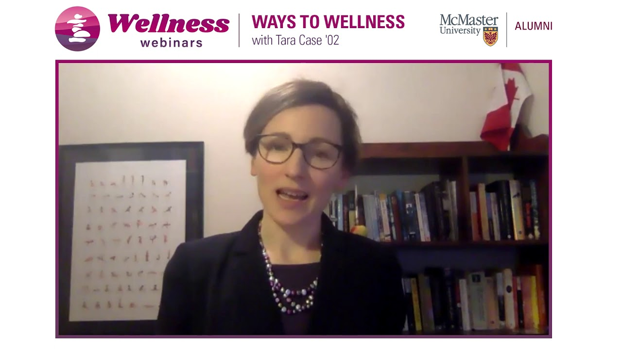 Image for Wellness Webinar with Tara Case webinar