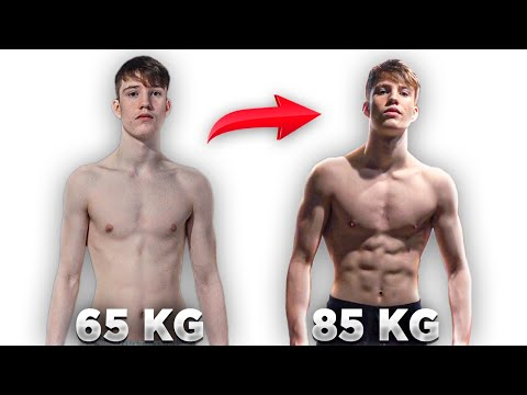 How I Gained Muscle Fast as a Skinny Guy (Gain Weight Fast)