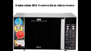 Unboxing IFB convection microwave - 23SC3