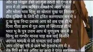 Shat Naman Madhav Charan Mein❤💚💗lyrics geet