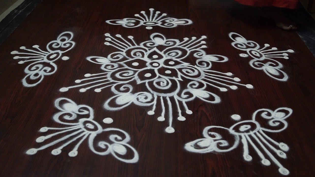 muggulu designs latest without dots || muggulu designs ...